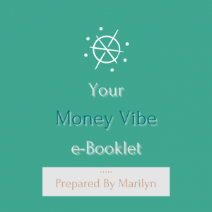 Your Personalised Astrology Money Vibe e-booklet