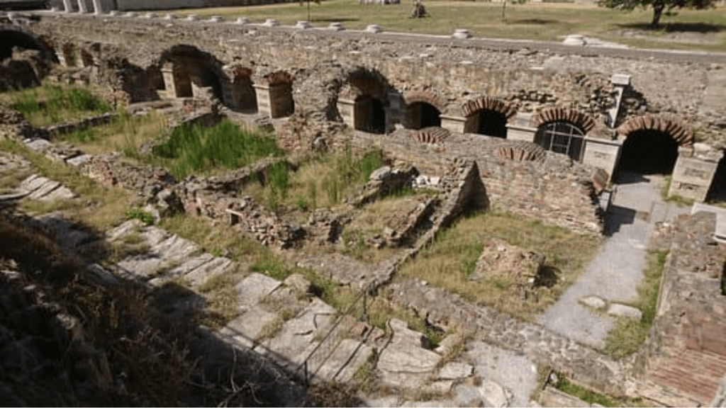 Greece Thessaloniki 2nd century - Archaeological Site of the Roman Agora