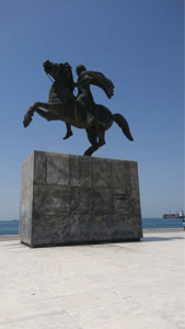 Greece Thessaloniki Monument of Alexander the Great