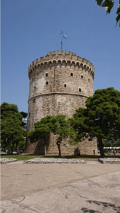 Greece Thessaloniki White Tower and Museum