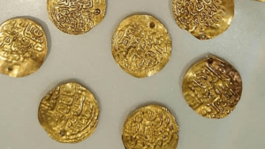 Greece Thessaloniki Original Gold Coins - White Tower and Museum