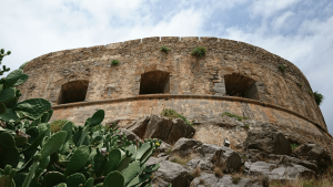 Crete Outer, Inner Fortress Walls