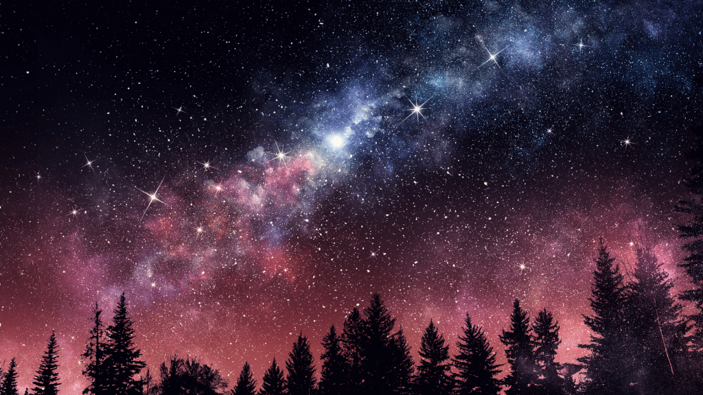 Astrology Connecting with the Cycles of Nature _ Starry Night Sky
